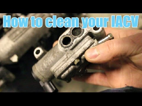 How to clean your IACV / Idle Air Control Valve (Honda)