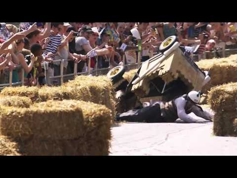 Red Bull Billy Cart 2015 track preview with Craig Lowndes & Jamie Whincup