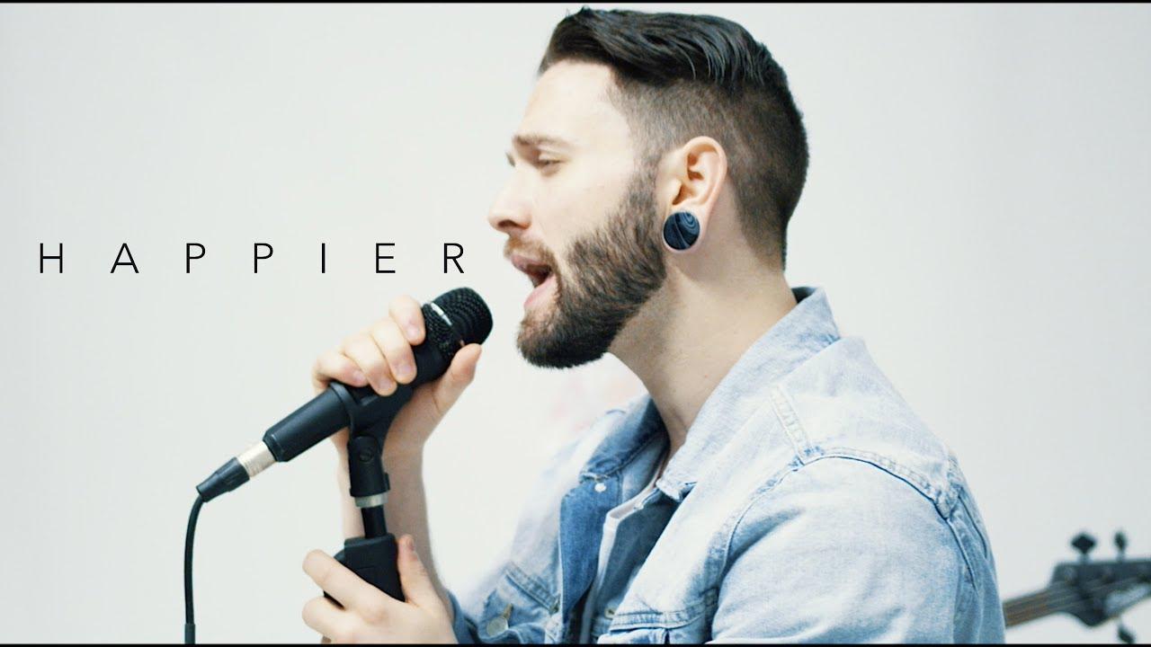 Happier - Marshmello ft. Bastille (Fame On Fire Rock Cover) image