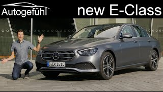 new Mercedes E-Class Facelift FULL REVIEW 2021 EClass sedan E-Klasse Limousine E350 MHEV  Autogefühl