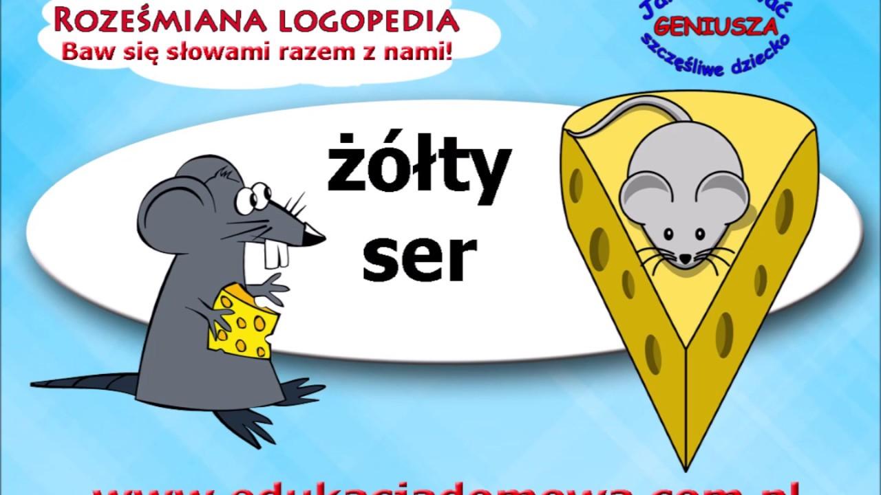 Szły Raz Myszy Dorota Gellner Roześmiana Logopedia Poleca Wiersze Polskich Poetów