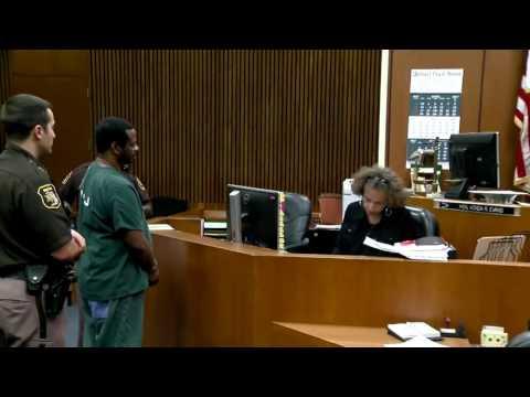 Judge Vonda Evans responds to defendant's F*% bomb!