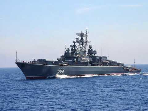 Третий с начала недели боевой корабль ВМФ России идёт к берегам Сирии
