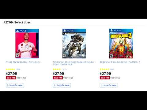 THE ABSOLUTE BEST PS4 BLACK FRIDAY GAME DEALS AVAILABLE - AMAZON, BEST BUY, TARGET + MORE