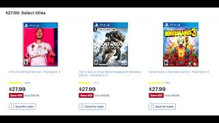 The Absolute Best Ps4 Black Friday Game Deals Available   Amazon, Best Buy, Target   More