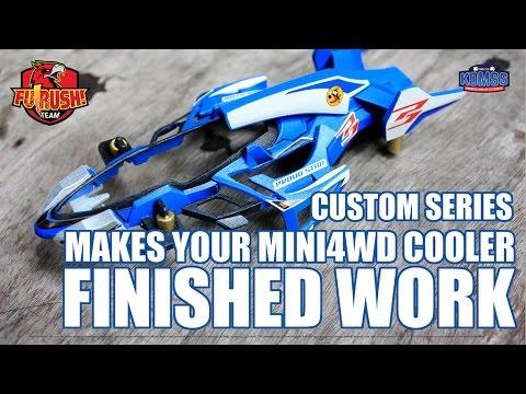 mini 4wd shooting proud star custom finished model youtube