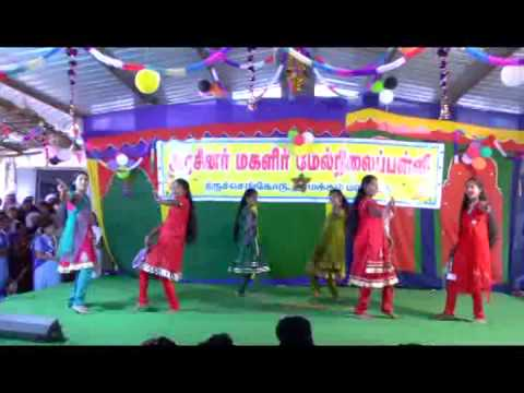varavu ettana selavu pathana kutty dance-GOVT.GIRLS.HR.SEC.SCHOOL,TIRUCHENGODE