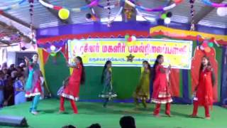 varavu ettana selavu pathana kutty dance-GOVT.GIRLS.HR.SEC.SCHOOL,TIRUCHENGODE