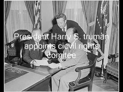 US Civil Rights Timeline: 1945-1950