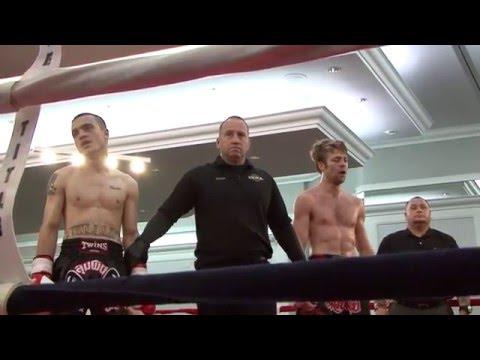 Amateur Fight Night #28 (Muay Thai Kickboxing) (Feb 27, 2016) (Part 3/5)