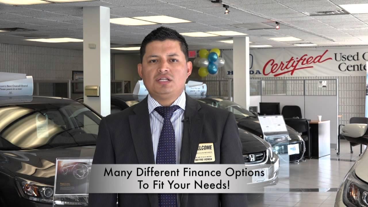 Marvelous Financing At Metro Honda | Honda Dealer Jersey City   YouTube