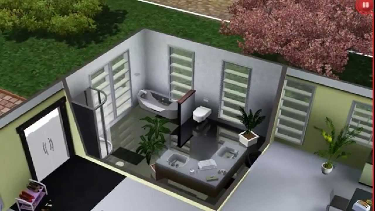 Sims 3 modernes haus hd youtube for Modernes haus sims 3