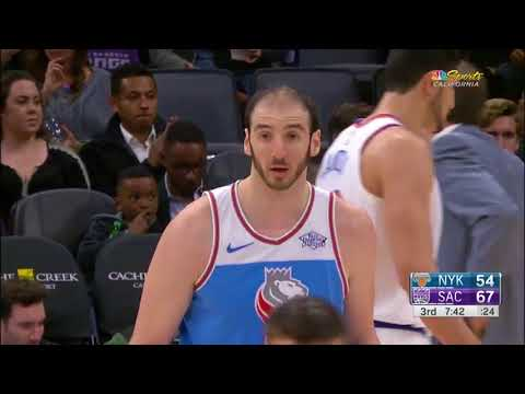 Sacramento Kings vs New York Knicks  4 Mar 2018 NBA