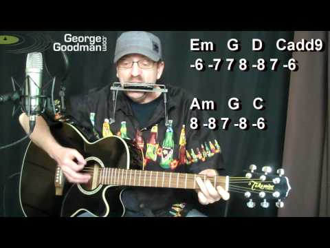 Bruce Springsteen The River - How To Play On Guitar and Harmonica