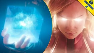 Captain Marvel Powers, The Tesseract, and Lightspeed Engine Explained