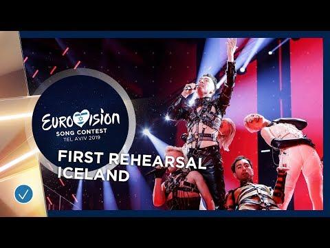 Iceland 🇮🇸 - Hatari - Hatrið mun sigra - First Rehearsal - Eurovision 2019