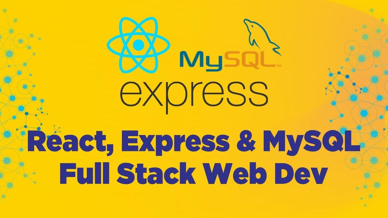 React, Express & MySQL
