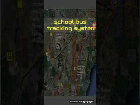 Android based school bus tracking without gps