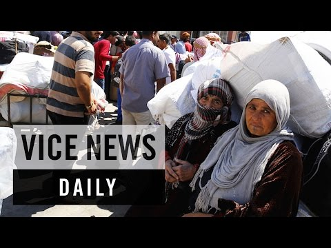 VICE News Daily: Thousands of Syrian Refugees Return Home From Turkey