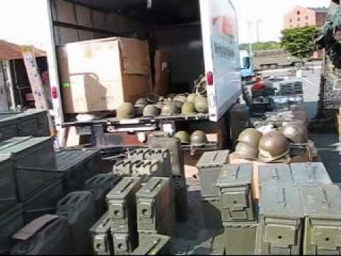Huge Military Surplus Flea Market!