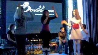 видео Конкурс в караоке-клубе «Дуэты», Москва.