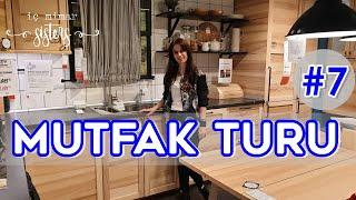IKEA MUTFAK TURU #7 - 14 m2 MASİF AHŞAP MUTFAK -  İç Mimar Sisters