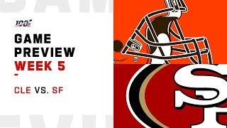 Cleveland Browns vs. San Francisco 49ers Week 5 NFL Game Preview