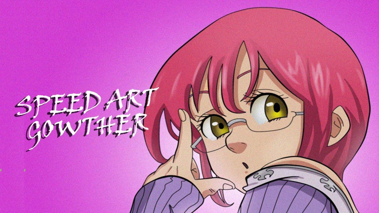 Colorindo Manga Gowther Nanatsu No Taizai 2 Youtube