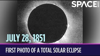 OTD in Space – July 28: First Photo of a Total Solar Eclipse