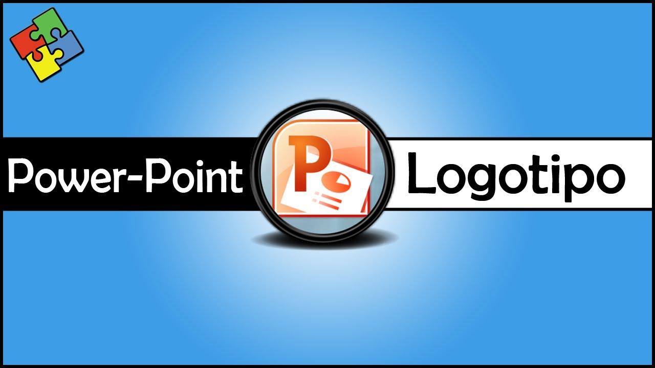 Powerpoint Criando Um Logotipo Youtube