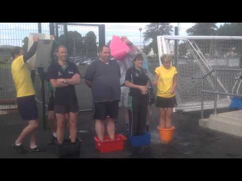 Sport Northern Ireland Executive Team complete the Ice Bucket Challenge.