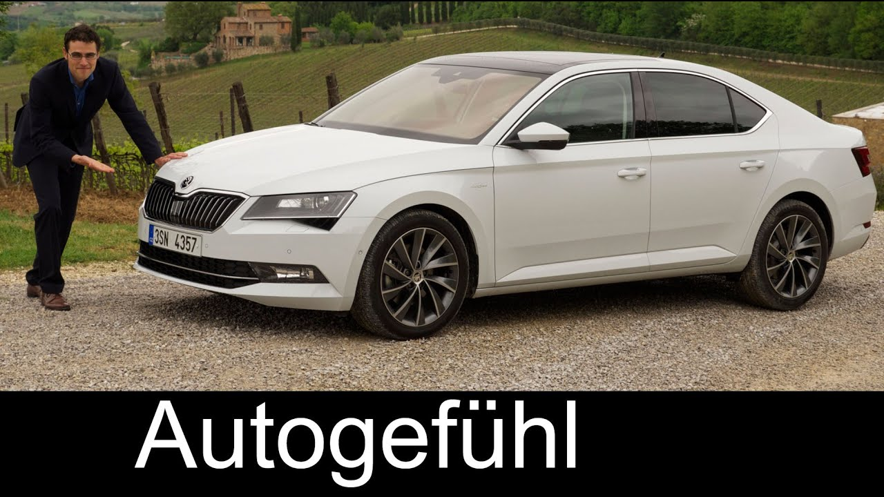 all new skoda superb l k 2 0 tsi 2016 full review test driven trim levels colours youtube. Black Bedroom Furniture Sets. Home Design Ideas