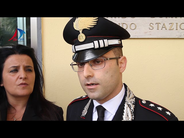 VIDEO CONFERENZA STAMPA CARABINIERI WHITE STONE - APPIA POLIS