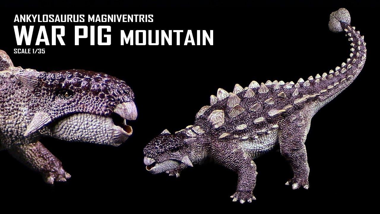 "REBOR 1:35 Ankylosaurus magniventris War Pig /""Mountain/"""