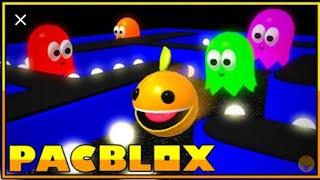 ROBLOX PAC-BLOX| Jogando Pac-Man no ROBLOX!