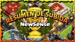 RESUMEN DE SUBIDA NEWSENSE- A por todas con Clash of Clans - Español - CoC