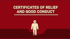 Certificates of Relief and Good Conduct: What You Should Know (Part One)
