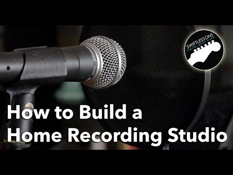 How to Build a Home Recording Studio - Equipment List