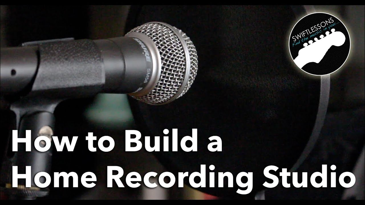 How To Build A Home Recording Studio Equipment List