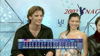 [HD] Kyoko Ina and John Zimmerman - 2002 Worlds SP