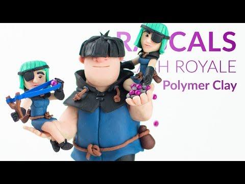 #2 Rascals (Clash Royale) – Polymer Clay Tutorial