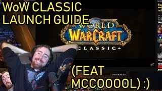 Asmongold reacts to WoW Classic Launch Guide and Preparation by MadSeasonShow