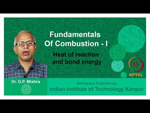 Lecture 12 Heat of reaction and bond energy