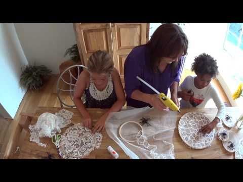 A Cute Spider Web Craft For Kids