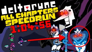World Record - Deltarune All Chapters Speedrun in 1:04:56