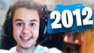 ASÍ era YouTube en 2012 - TheGrefg