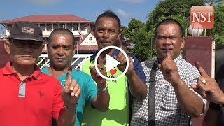 Voting proceeds smoothly in 11th Sarawak state election