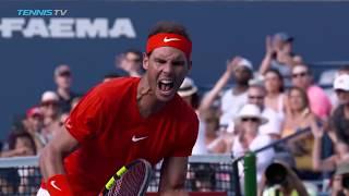 Highlights: Nadal Beats Tsitsipas In Rogers Cup Final, Toronto 2018