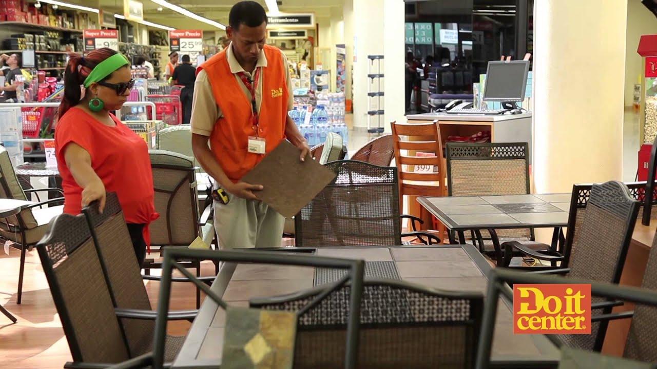 Vivenex hogar muebles para terraza y jard n youtube for Muebles para terraza y jardin