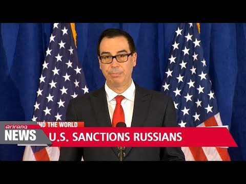 U.S. slaps sanctions on Russians for election meddling, cyber attacks